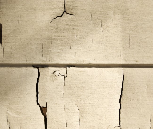 Dried, cracked or curling siding panels? image