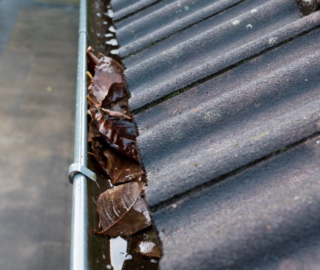 <strong>Leaks</strong> from your rain gutters?  image