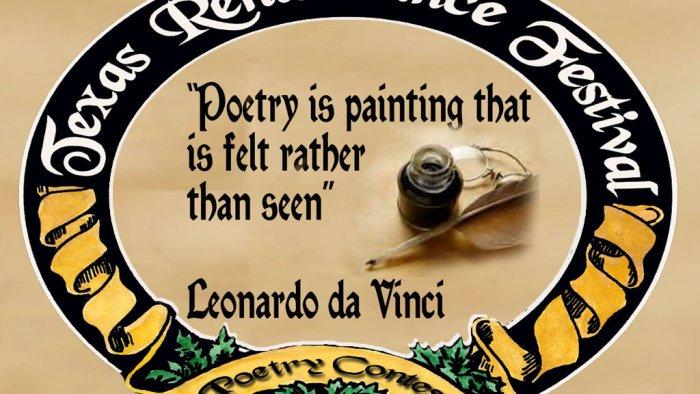 Poetry Contest at Texas Renaissance Festival