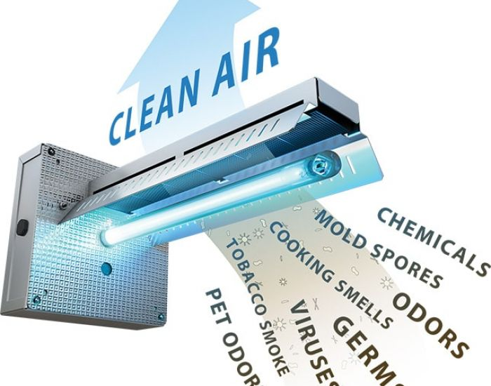 Zap harmful microbes and purify indoor air