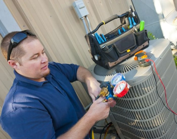 HVAC careers in service and preventative maintenance