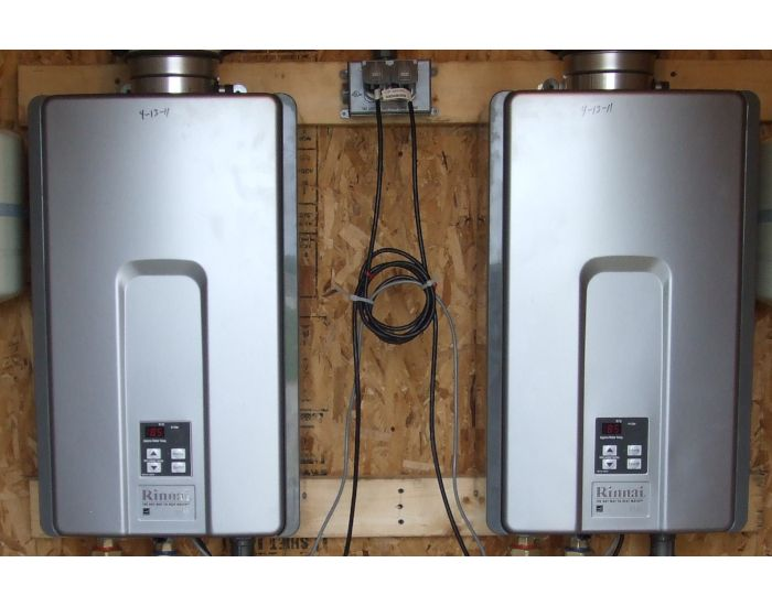 With a tankless hot water heater installation, you'll never run out of hot water.