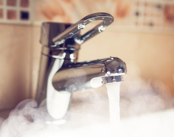 Here's one of the most common tankless water heater problems: capacity