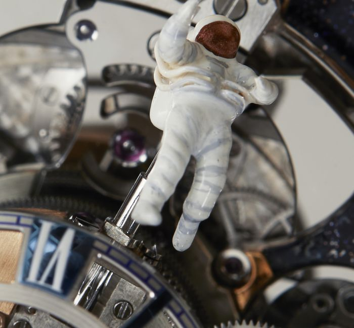 Astronomia Maestro Miniature Astronaut On Orbit