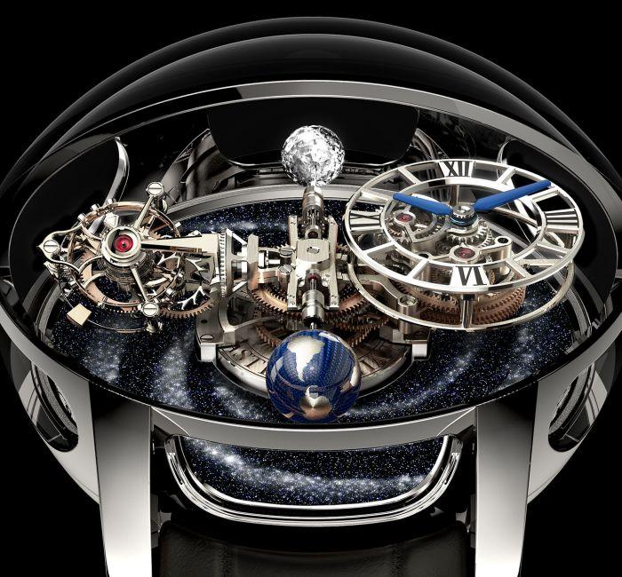 Astronomia Tourbillon Case & Crystal
