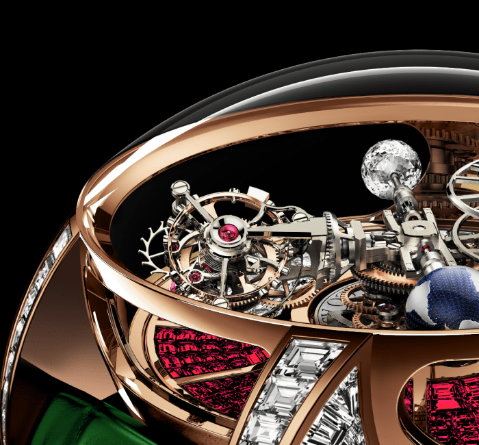 Astronomia Tourbillon Baguette Triple-Axis Tourbillon