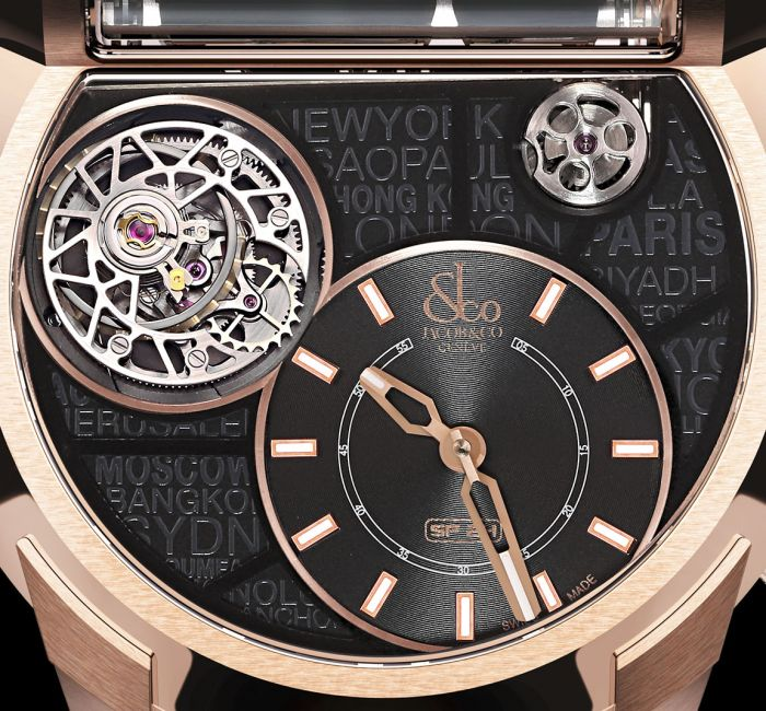Epic SF24 Tourbillon Dial & Hands