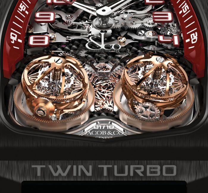 Twin Turbo Triple Axis Tourbillon
