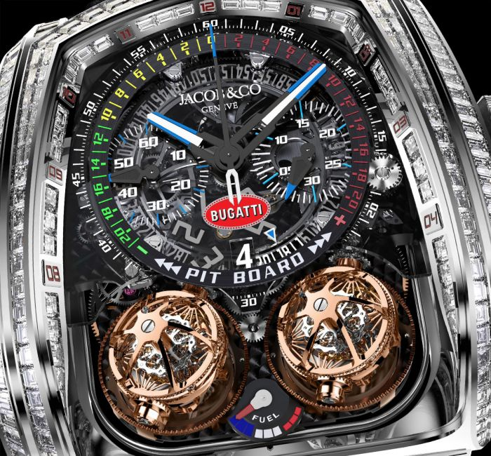 Twin Turbo Furious Bugatti Dial & Hands
