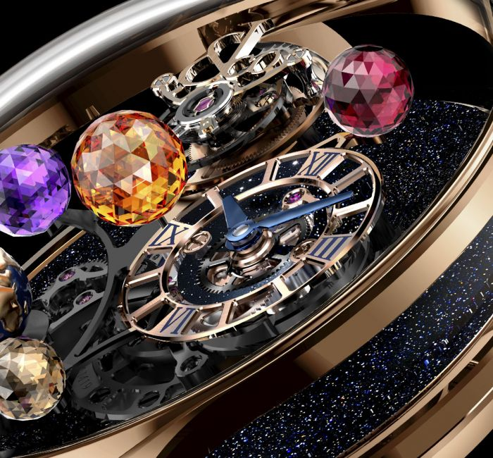 Astronomia Solar Planets Jewelry Dial & Hands