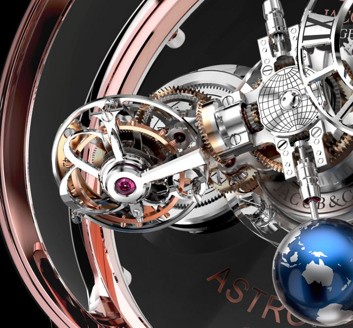 Astronomia Clarity Triple-Axis Tourbillon