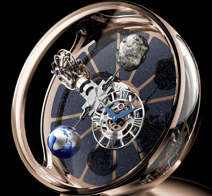 Astronomia Tableclock Case & Crystal