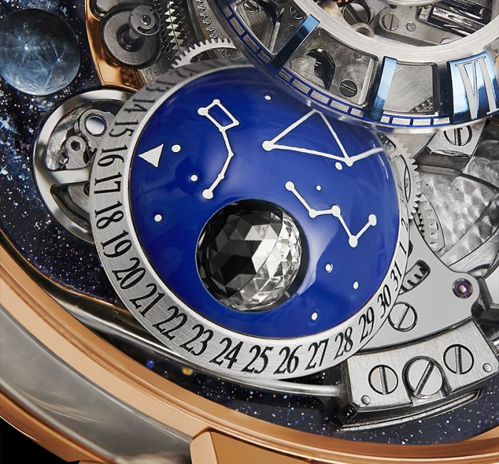 Astronomia Maestro Moon Phase Indication