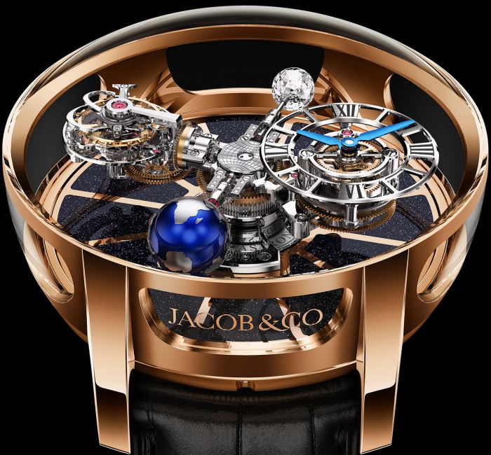 Astronomia Tourbillon Case & Crystal