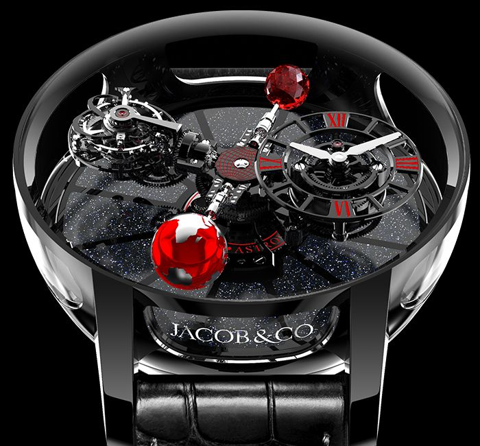 Astronomia Ceramic Case & Crystal
