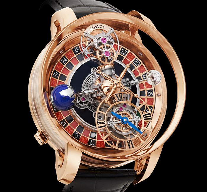 Astronomia Tourbillon Casino Rose Gold Jacob Co
