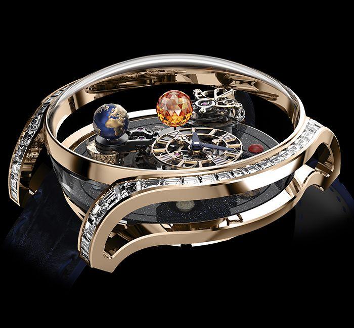 Astronomia Solar Baguette Case & Crystal