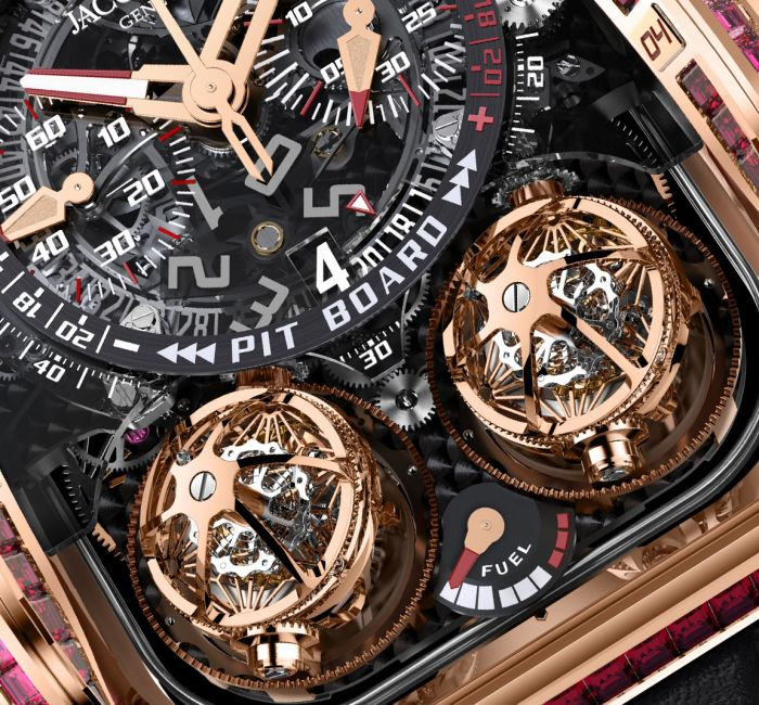 Twin Triple Axis Tourbillon