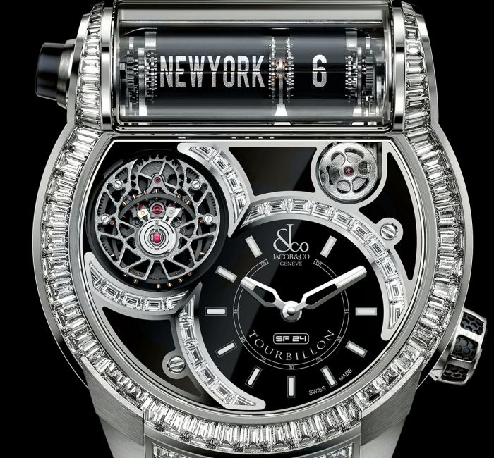 Epic SF24 Tourbillon Case & Crystal