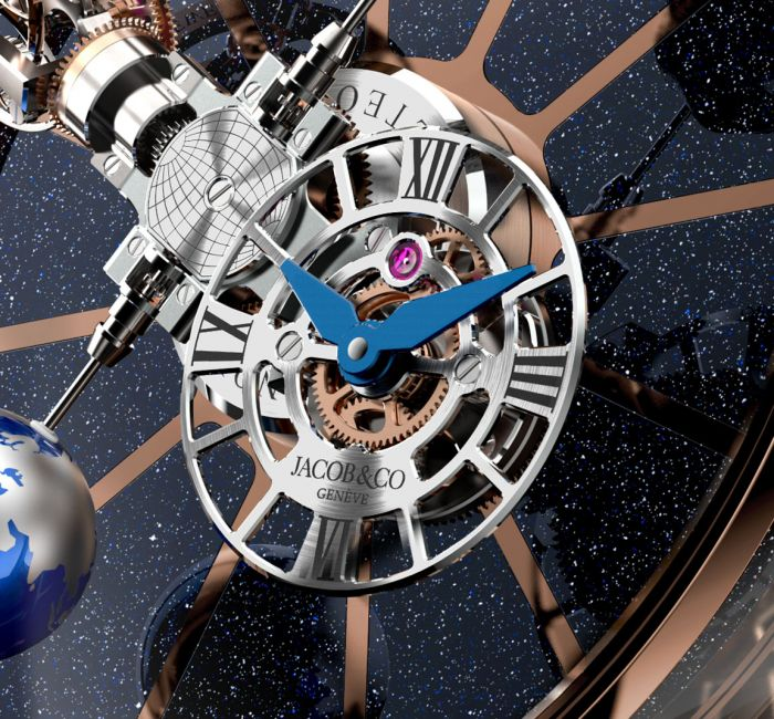 Astronomia Tableclock Dial & Hands