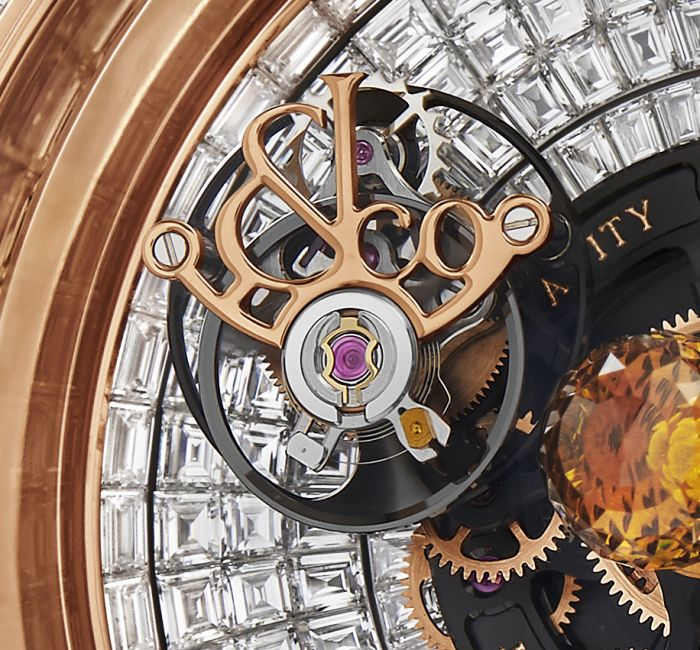 Astronomoia Solar Full Baguette Flying Tourbillon