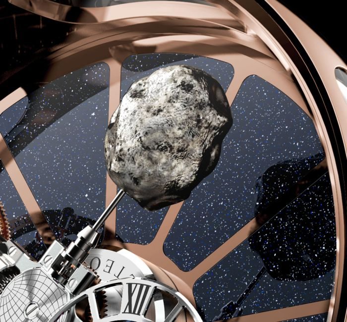 Astronomia Tableclock Triple-Axis Tourbillon