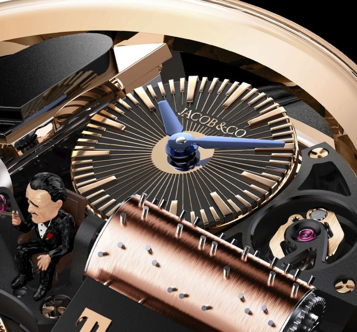 Opera Musical Godfather Gold Dial & Hands