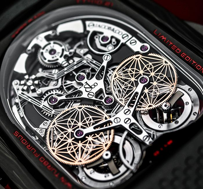 Twin Turbo Furious Bugatti Decimal Minute Repeater