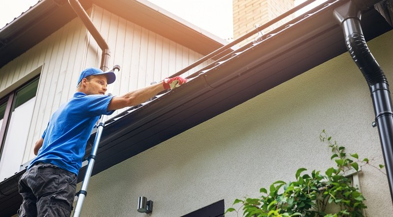 Dangers Associated with DIY Gutter Cleaning image