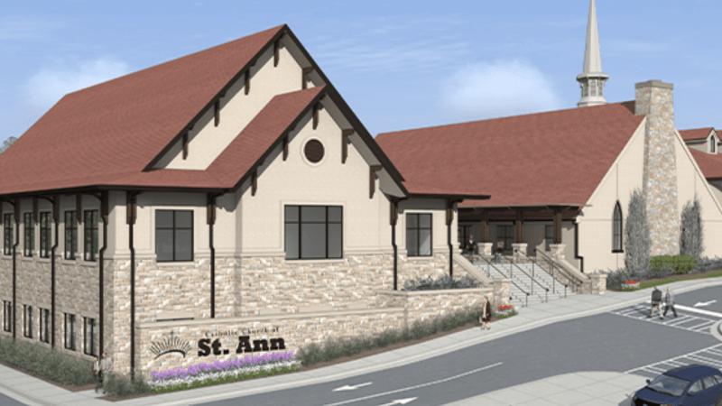 St. Ann's Catholic Church Family Life CenterHogan Construction