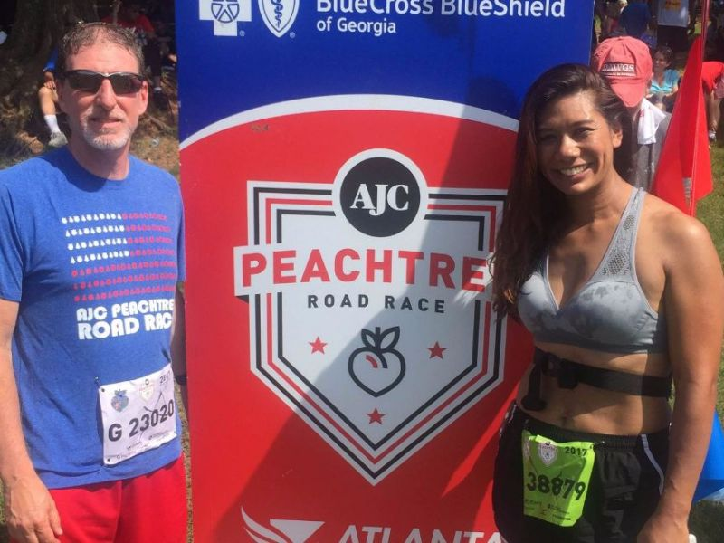 2017 Peachtree Road Race