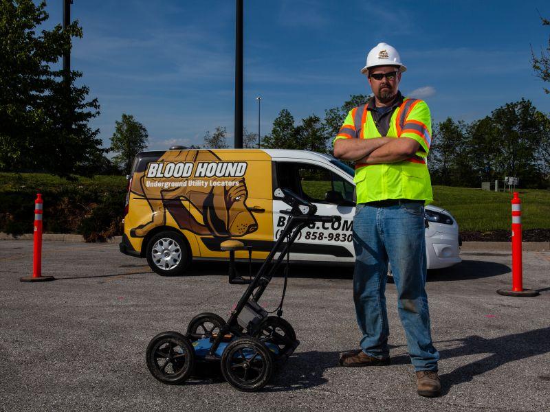 Ground Penetrating Radar Service   Blood Hound, LLC