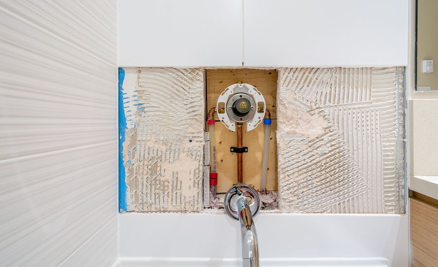 A Shower Valve Leak Can Lead To Tile Replacement The
