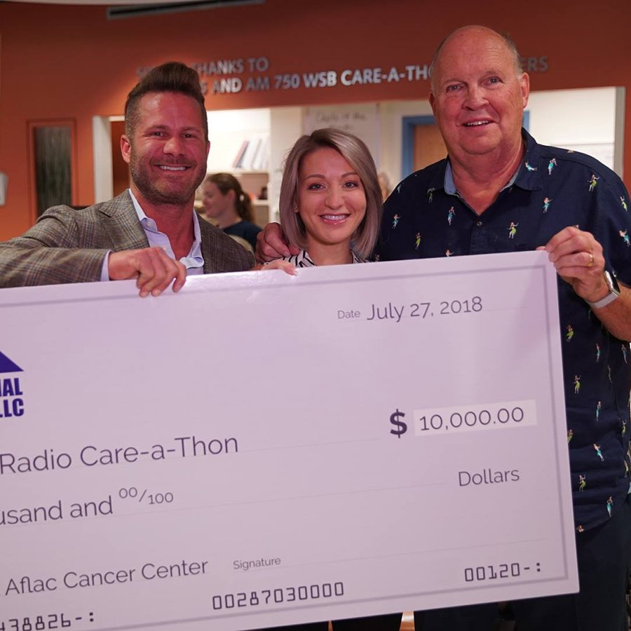 1st National Roofing is a proud sponsor the <strong>2018 WSB Care-a-thon!</strong> image