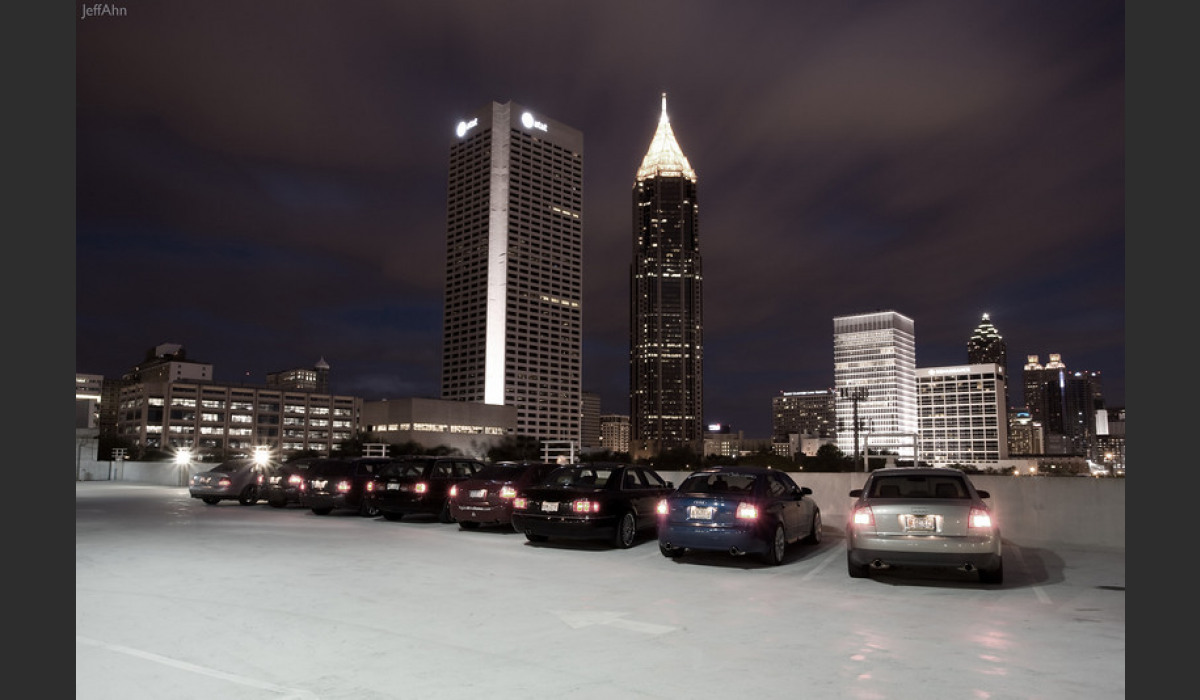 Image of Nightime in Atlanta