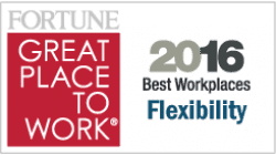 Fortune & Great Places to Work - Best Workplace for Flexibility
