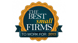 Consulting Magazine Best Small Firms to Work For