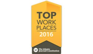 2016 - AJC Top Work Places