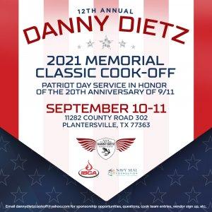 Danny Dietz 2021 Memorial Classic Cook-Off