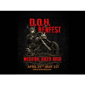 Dawgs on Hogs Medieval Biker Bash 2021