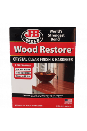 WOOD RESTORE™ PREMIUM LIQUID EPOXY 32 OZ