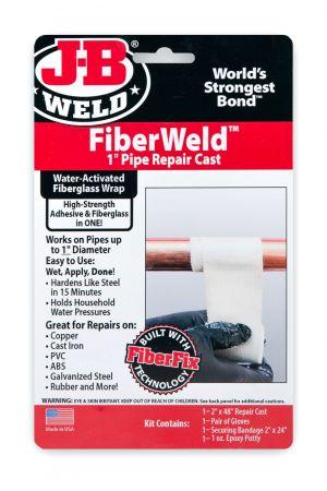 FIBERWELD 1″ PIPE REPAIR CAST FIBERGLASS PIPE REPAIR CAST