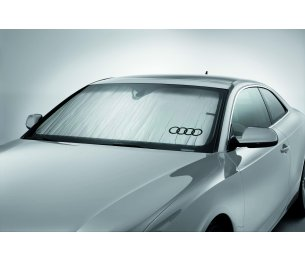 Custom Sunshield with Audi Logo
