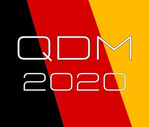 Guaranteed Spot for QDM 2020