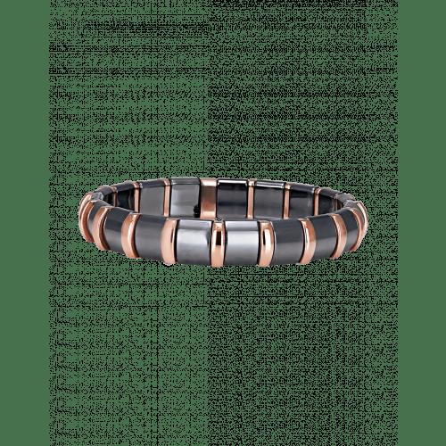 Hematite Bracelet 19 Rose Bars