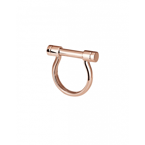 Rose Gold Estribo Ring