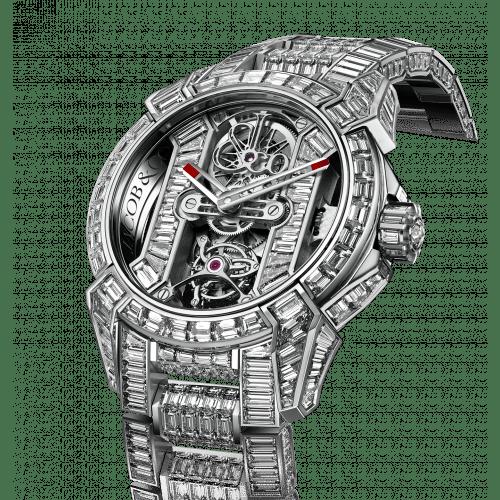 Epic X Tourbillon Bracelet Diamonds