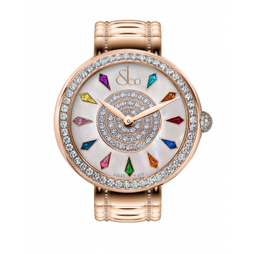 Brilliant One Row Rose Gold Couture 38mm