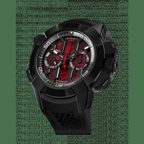Epic X Chrono Black Titanium