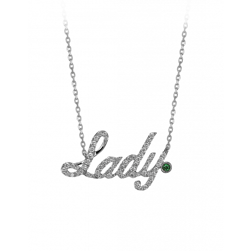 White Gold Lady Necklace